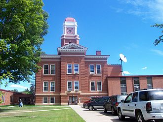 Forest County, Wisconsin - Image: Forest County Wisconsin Courthouse US8WIS32WIS55