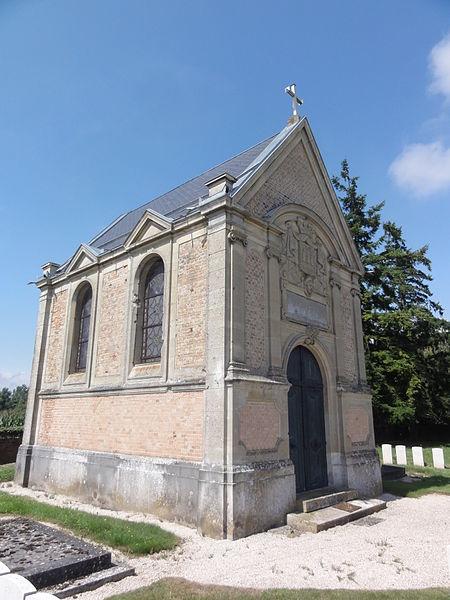 Foreste (Aisne) chapelle du cimetière