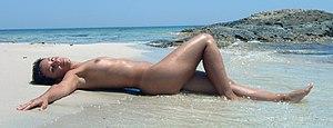 Naturisme op het strand van Formentera