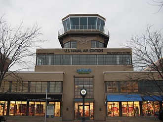 Glenview, Illinois - Image: Former Glenview Naval Air Station Tower