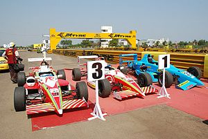 N. Leelakrishnan - Leela's tuning enabled Red Rooster secured a One and Three Podium Positions for Formula Rolons in 2009