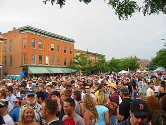 Fort Collins, Colorado - The 2004 Colorado Brewers Festival in Fort Collins