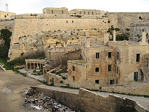 Midnight Express (film) - The film was mostly shot in the lower parts of Fort Saint Elmo in Valletta