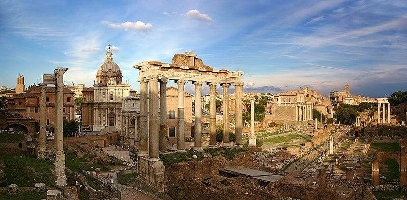 Ficheiro:Forum Romanum Rom.jpg