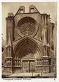 Fotografi av Tarragona. Catedral, fachada - Hallwylska museet - 104755.tif