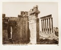 Fotografi på romerska tempelruiner i Balbek - Hallwylska museet - 104287.tif