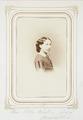 Fotografiporträtt på Ebba Wallis, f. Rosenblad - Hallwylska museet - 107805.tif