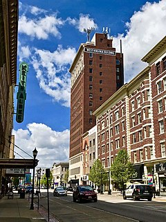 Downtown Huntington Historic District United States historic place