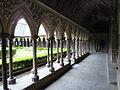 Fr Mont-Saint-Michel Cloister gallery.JPG
