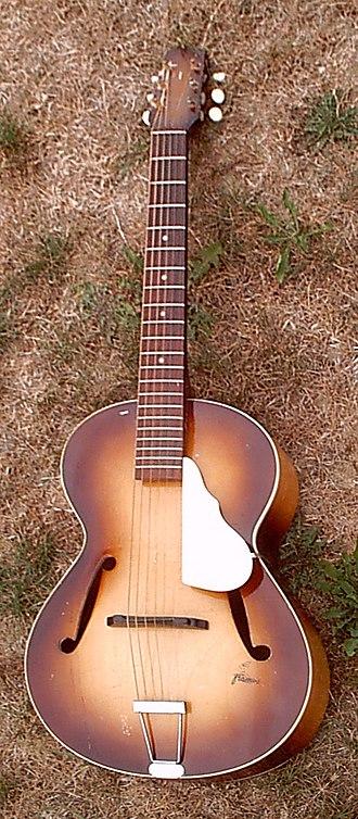 Framus - Image: Framus archtop guitar (1959)