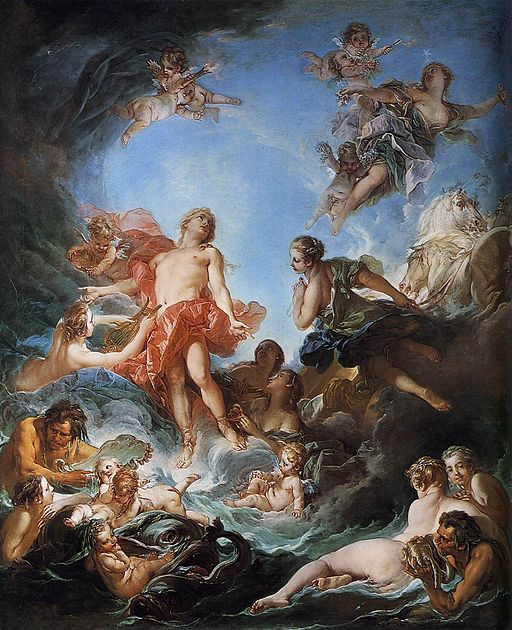 """The Rising of the Sun"" by François Boucher"