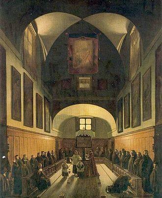 François Marius Granet - Image: François Marius Granet Le Choeur de la Chapelle des Capucins à Rome