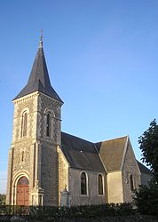 The church in Tréprel