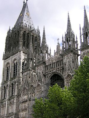 Jean Titelouze - The Rouen Cathedral, where Titelouze worked from 1588 until his death.