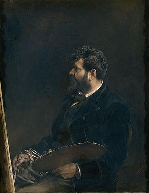 Francisco Domingo Marqués - Self-portrait (1884)
