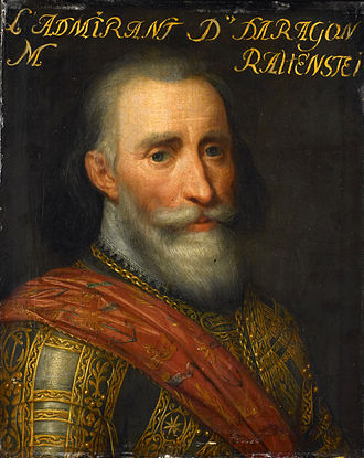 Siege of Rees (1599) - Portrait of Don Francisco de Mendoza, by Jan Antonisz. van Ravesteyn. Rijksmuseum Amsterdam.