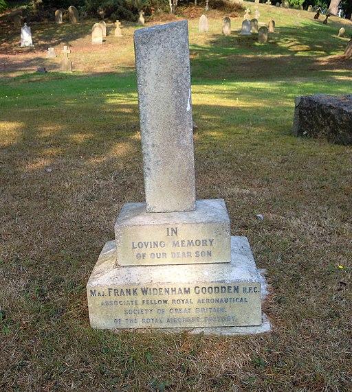 Frank Widenham Goodden Grave Aldershot