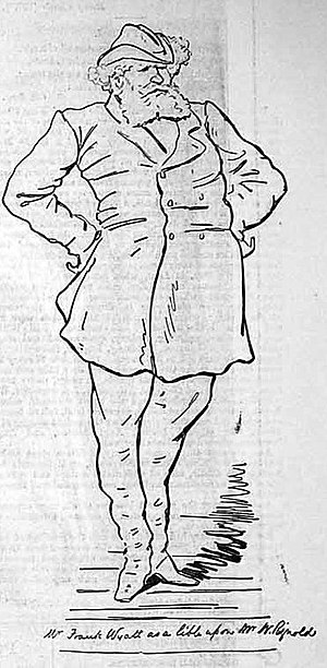 Frank Wyatt - Wyatt as William Rignold in Another Drink (1879)