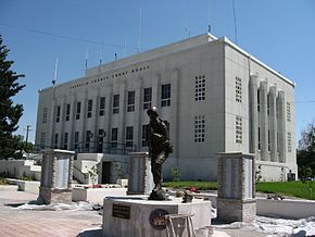 Franklin County Courthouse, Preston, Idaho.jpg