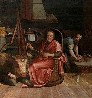 Richard Aertsz painter from the Northern Netherlands (1482-1577)