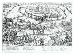Destruction of the Oberstift - Hülchrath besieged.