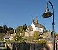 Frauenstein Kraig Kirchweg 6 Pfarrkirche hl Johannes d T S-Ansicht 15102006 14.jpg