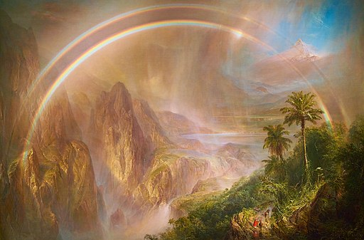 Frederic Edwin Church -- Rainy Season in the Tropics