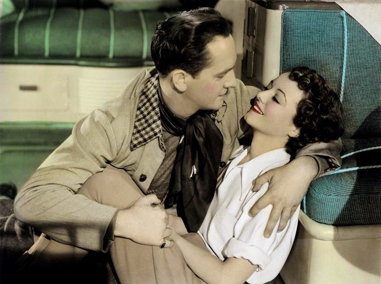 Fredric March-Janet Gaynor in A Star Is Born (1937)