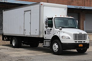 Freightliner Business Class M2 - Freightliner M2 106 straight truck with a van body