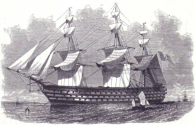 French ship Bretagne naval fleets of the world.PNG