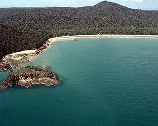 bay in Queensland, Australia