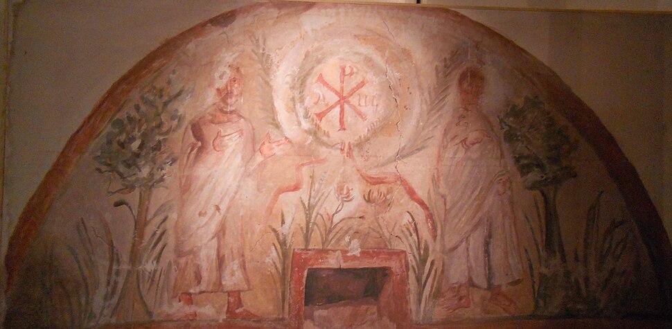 Freska iz nekropole u Naisu