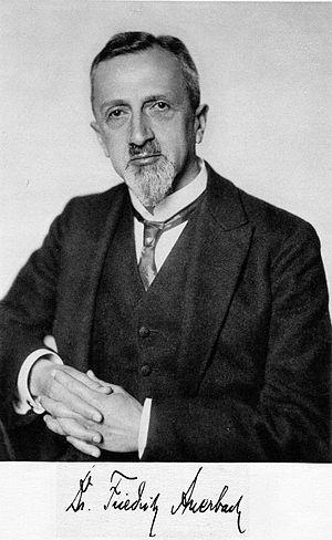 Friedrich Auerbach - Friedrich Auerbach (ca. 1922)