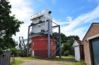 Post mill - Image: Friston Post Mill geograph.org.uk 1970480