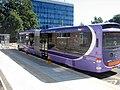 Ftr bus in Singleton Campus square, Swansea University, 19038 (S70 FTR), 9 September 2009.jpg