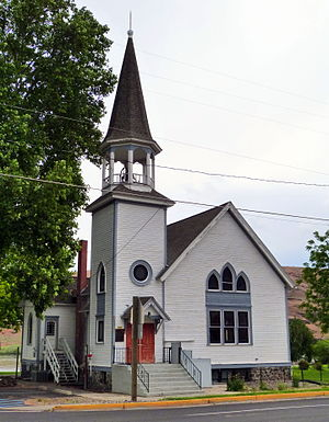 National Register of Historic Places listings in Asotin County, Washington - Image: Full Gospel Church 1 Asotin Washington