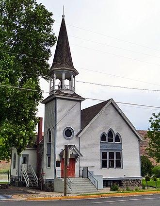 National Register of Historic Places listings in Asotin County, Washington - Image: Full Gospel Church 1 Asotin Washington