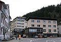 Gütenbach Ortsmitte mit der Firma Faller und Rathaus.jpg