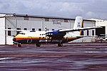 G-AYMG H.P. Herald Securicor Express CVT 28-03-87 (42867603712).jpg