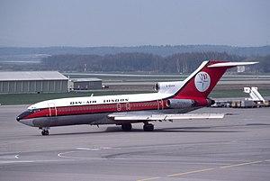 Dan-Air Flight 1008 - G-BDAN seen at an unknown date