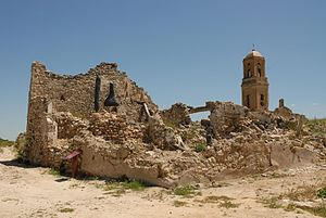 35th Division (Spain) - Ruins of Corbera d'Ebre, a part of the town that has been kept as a memorial to the many Republican fighters who lost their lives there.