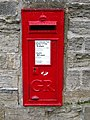 GR Postbox, Ripon - geograph.org.uk - 1587747.jpg