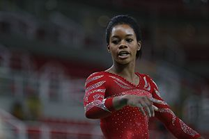 Lochtegate - Gymnast Gabby Douglas in Rio