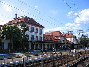 Teiuș - Image: Gara Teius