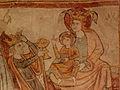 Gargilesse-Dampierre (36) Église Saint-Laurent et Notre-Dame Crypte Fresques 17.JPG