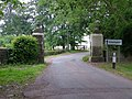 Gateposts, Great Saxham - geograph.org.uk - 1460267.jpg