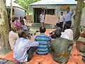 Gathering in a meeting of villagers in an Bangladeshi village 2015 43.jpg