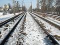 Gdańsk Oliwa – tory kolejowe.JPG