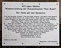 Gedenktafel Zscheilaer Str 10 (Meißen) Postmeilensäule.jpg