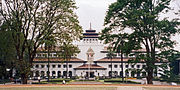 "The image ""http://upload.wikimedia.org/wikipedia/commons/thumb/5/5a/Gedung-Sate-Trees.jpg/180px-Gedung-Sate-Trees.jpg"" cannot be displayed, because it contains errors."